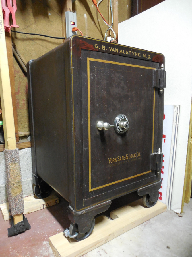 york safe. restored york safe :
