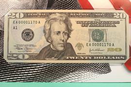 12X $20 FRN =$240.00 Face in BEP Folders